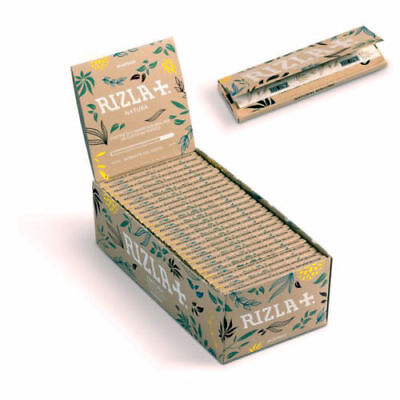 Rizla Organic Hemp Natura Regular Rolling Papers With Multi Pack- New Skin
