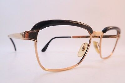 Vintage 60s eyeglasses frames gold filled CAMBRIDGE Doublé Or Laminé France