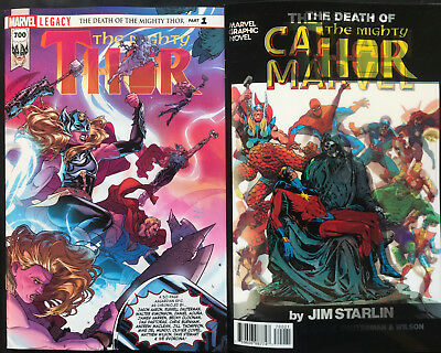 Marvel Legacy The Mighty Thor #700 Regular & Lenticular Covers