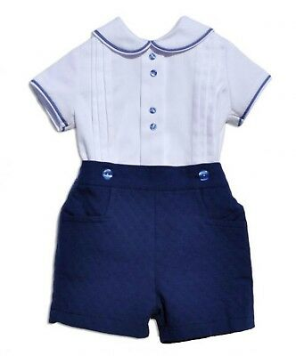 Baby Boys Spanish Shirt & Short Set 18m