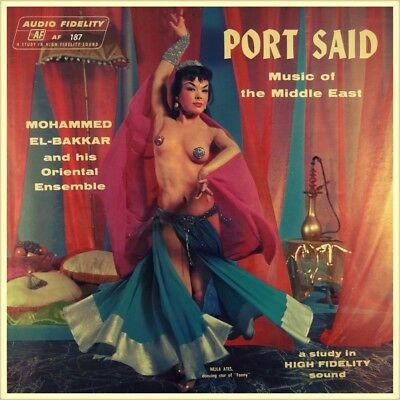 "7"" MOHAMMED EL BAKKAR محمد البكار Belly Dancers Of Port Said / Alexandria ARABIC"