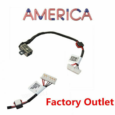 DC Power Jack w/ Cable Dell Inspiron 15-5000 15-5555 15-5558 5551 5559 KD4T9 GT