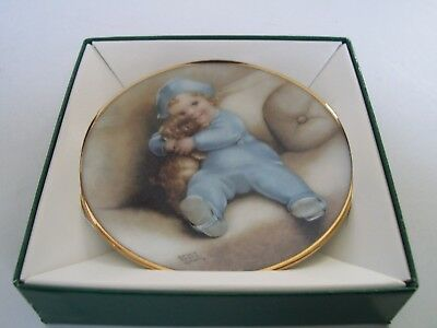 Bessie Pease Gutmann GOING TO TOWN Miniature Collector Plate 1991