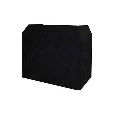 Gorilla / Equinox DJ Booth High Quality Replacement Lycra Cloth Black