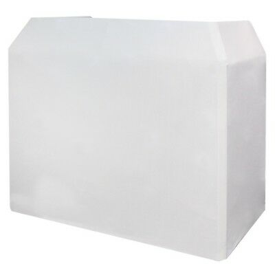Gorilla / Equinox High Quality DJ Booth Replacement Lycra Cloth White