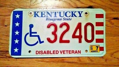 Kentucky Bluegrass State License Plate/tag ~3240~