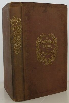 CHARLES DICKENS A Christmas Carol FIRST EDITION 1843