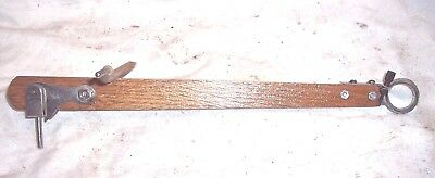 Victor Phonograph Wood Tone Arm For The Early Front Mount Machines