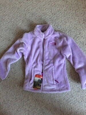 The North Face Osolita Jacket Purple GIrls Size Large NEW