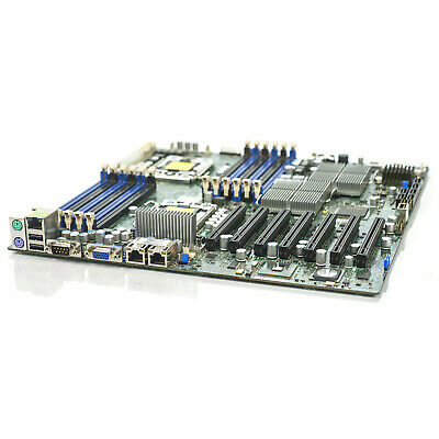 SuperMicro X8DTH-6F Server Motherboard Dual LGA1366 Socket with IO Shield