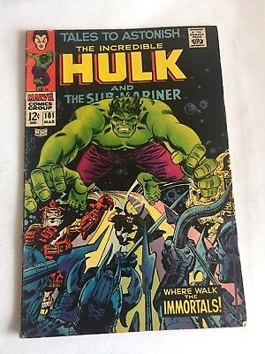 Tales to Astonish 101   Submariner and hulk! Silver age. Last issue!
