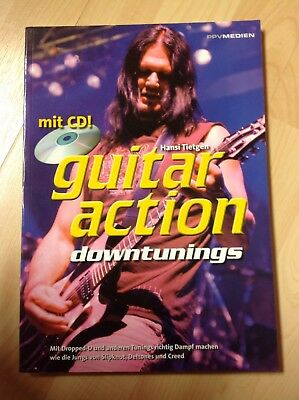 Guitar Action Downtunings - Buch + CD - gebraucht
