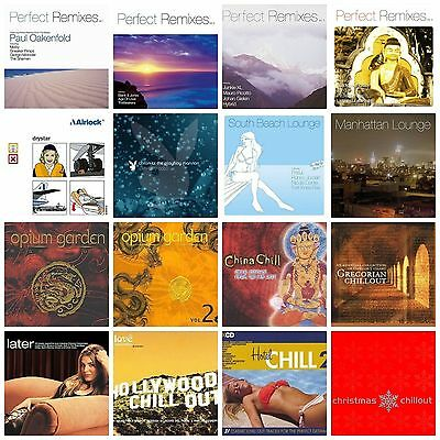 16 used CHILLOUT/LOUNGE CDs LOT Paul Van Dyk,Airlock,Tiesto,Thievery Corporation