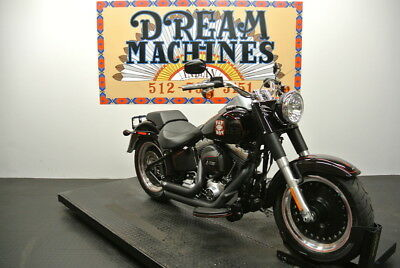 FLSTF - Softail Fat Boy -- Dream Machines Indian 2016 Harley-Davidson FLSTF - Softail Fat Boy  1237 Miles B