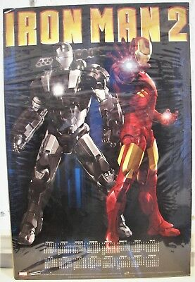 """IRON MAN 2: THE MOVIE 15"""" x 22"""" Poster/ Wall Calendar for 2011 - Marvel Comics"""