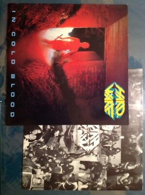 HARDWARE - IN COLD BLOOD (German Speed Metal) Org 1.Press SPV 1985