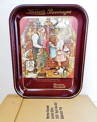 "Norman Rockwell ""April Fools Day"" Vintage 1976 Metal Tray / Décor - VGUC"