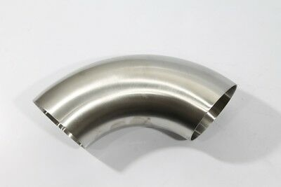 """Stainless Works 3/"""" 304 Stainless Steel J Bend OD .065 Wall 4.4 CLR"""