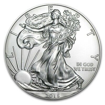 free shipping 2pcs/lot,2015 1 oz Silver American Eagle not real