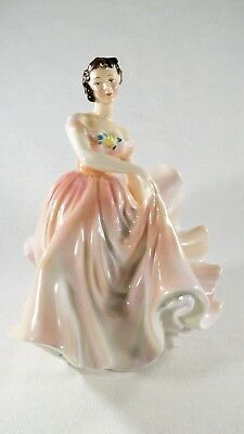 "Vintage Royal Doulton Bone China Figurine The Polka    HN 2156   7-1/2"" Tall"