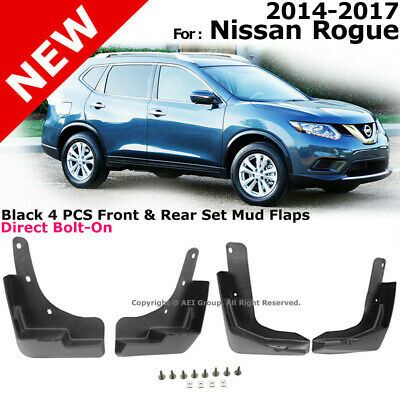 2014-2018 Nissan Rogue Rear Moulded Mud Flap Splash Guards OEM NEW 999J2-G2004