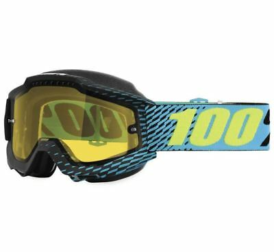 100% Accuri Snow Goggles - R-Core with Yellow Lens