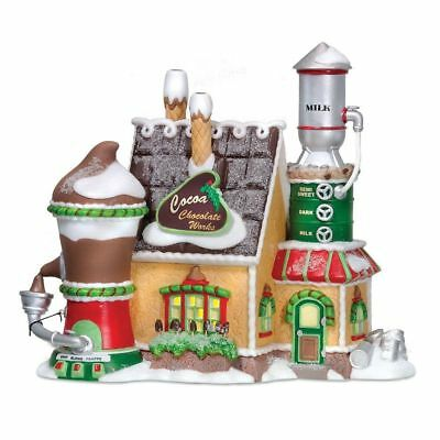 Dept 56 North Pole Village COCOA CHOCOLATE WORKS 805545 DEALER STOCK