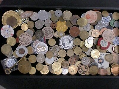 2 Pounds of Mixed Tokens  Tokens of all kinds! SEE DETAILS  SHIPPING $5.95 IN US
