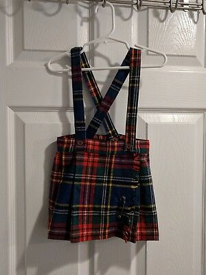 Children's Kilt Tartan Authentic S.A.R. Sportswear size 4/5
