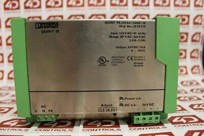 Phoenix Contact QUINT PS-230AC/24DC/10 Power Supply - Used