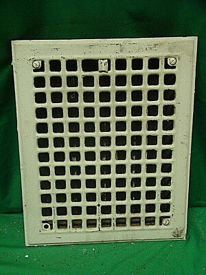Antique Iron Heating Vent Grate Square Design 14 X 11  J