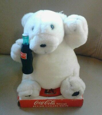 Coca Cola bear from the Coca-Cola brand plush toy collection