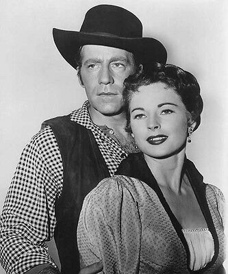 Hugh Marlowe, Coleen Gray  - The Black Whip (1950)  - 8 1/2 X 11