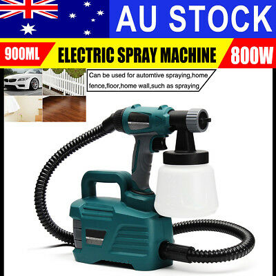 880W Electric Paint Sprayer Gun Painter HVLP Painting Machine DIY Spray Station