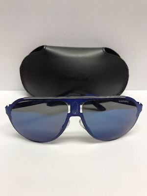 cf7baf2cf2556 Carrera Champion Aviator Sunglasses Blue 6VXXT - Made in Italy Authentic w  Case