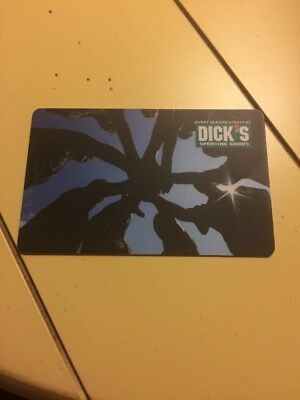Dicks Sporting Goods Gift Card $87.20 Value