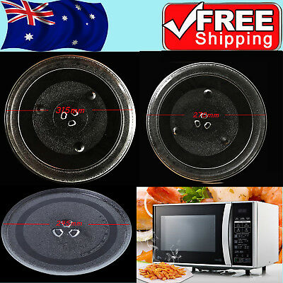 3 Types Dia 245/270/315mm Microwave Oven Turntable Glass Tray Glass Plate +