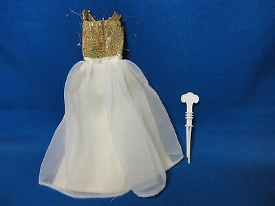 Vintage Barbie Miss America Dress Outfit And Curler Accessory