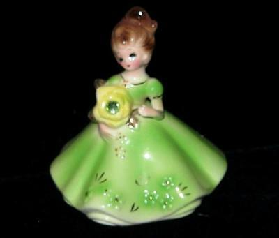 "VINTAGE Josef Originals Birthday Girl Month of May ""Emerald"""