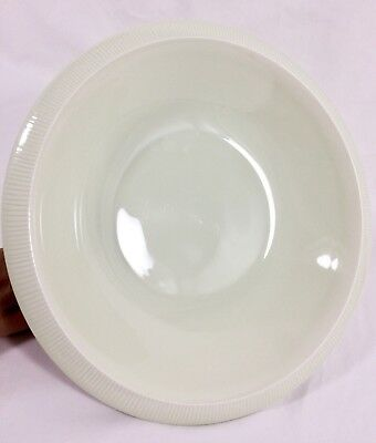 "Vtg Franciscan SEA SCULPTURES Primary WHITE 10 1/2"" Round Serving Bowl RETIRED"
