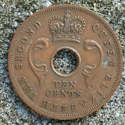 British East Africa / Kenya 10 Cents 1956 - XF