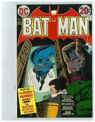 Batman # 250 - July 1973 - 14.00 Comicon Bargain Box - Free Shipping