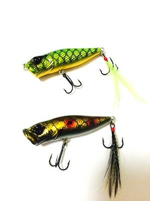 Megabass Pop X 1/4oz SP C 2pcs set Fishing Lure Last One Rare Limited Japan