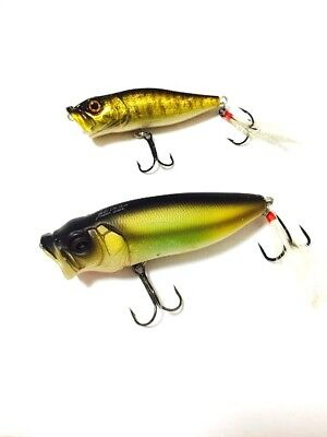 Megabass Pop Max X 1/2oz 1/4oz SP C 2pcs set Lure Last One Rare Limited Japan