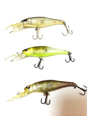 Megabass Live X Margay T 1996 1998 3pcs set Lure Last One Rare Limited Japan
