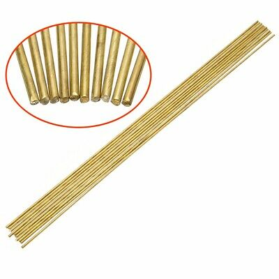 10pcs 1.6x250mm HS22 Brass Welding Brazing Solder Rod For Repaired Soldering