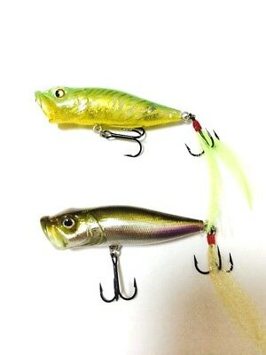Megabass Pop X 1/4oz 2005 2pcs set Fishing Lure Last One Rare Limited Japan