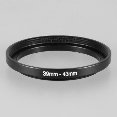 39-43mm Adapterring 39mm-43mm Filteradapter 39 - 43 mm