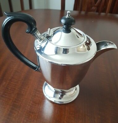 Sheffield Made - Vintage  Silver Plate Tea/coffee Pot.excellent Condition