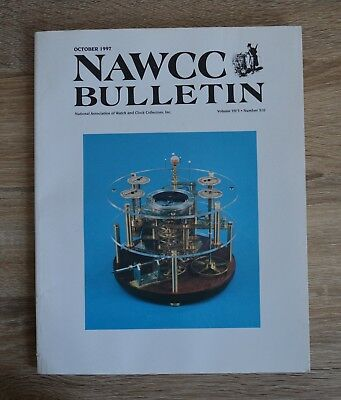 NAWCC Bulletin October 1997 National Association of Watch and Clock Collectors